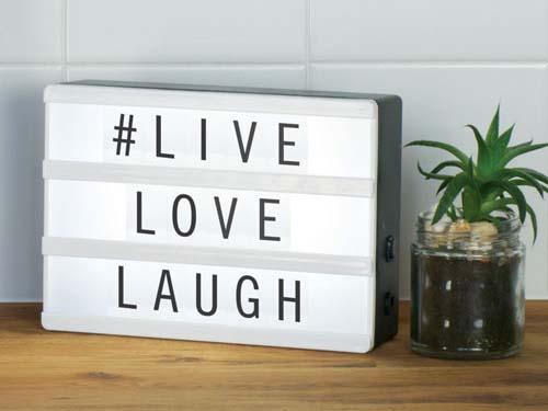 Lightbox in huis: dit zijn de voordelen!
