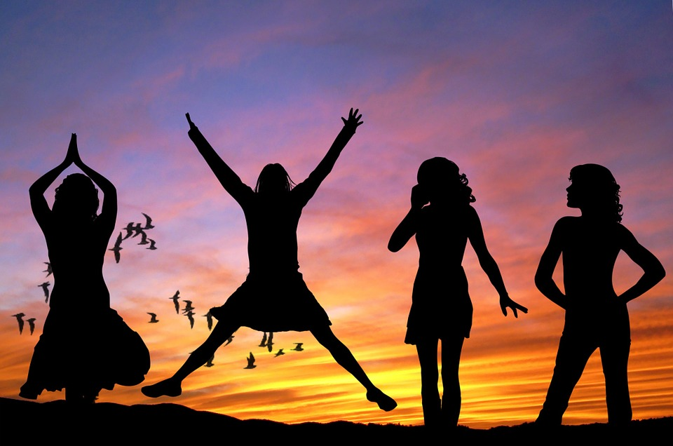 Een avond met de meiden, de avontuurlijke versie!