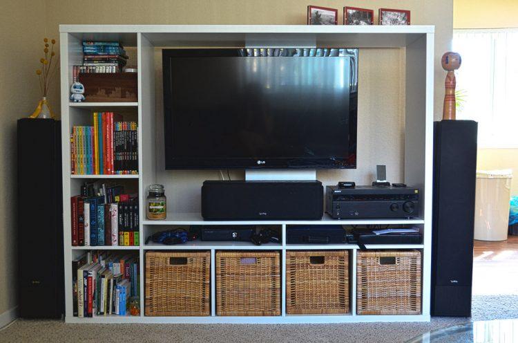 ruimte besparen tv beugel