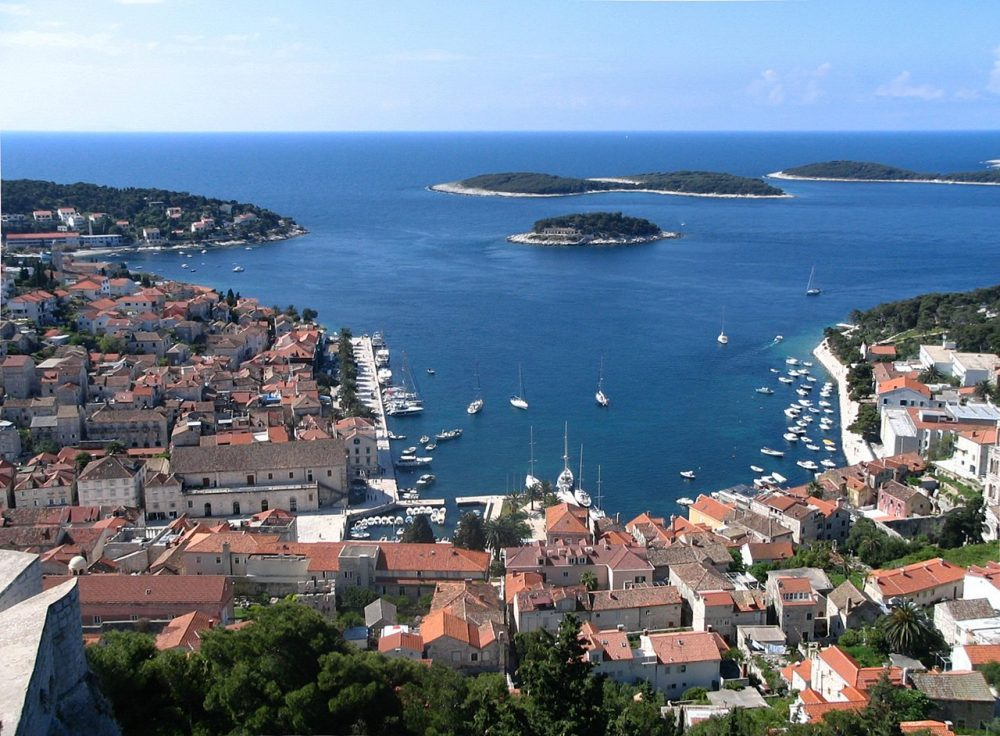 Hvar in Kroatië