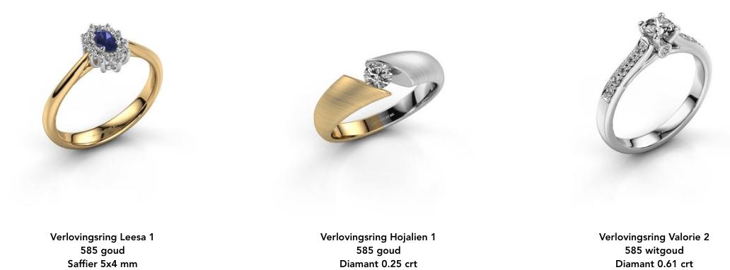 Duurzaam gemaakte sieraden