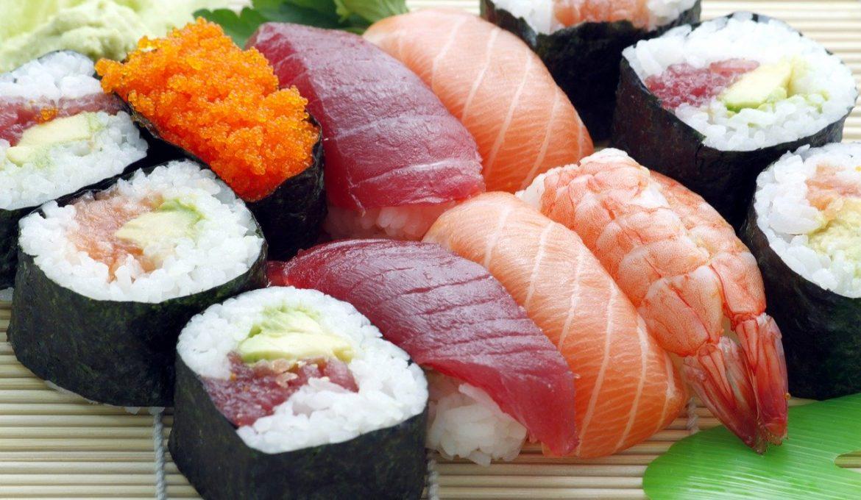 Sushi recept