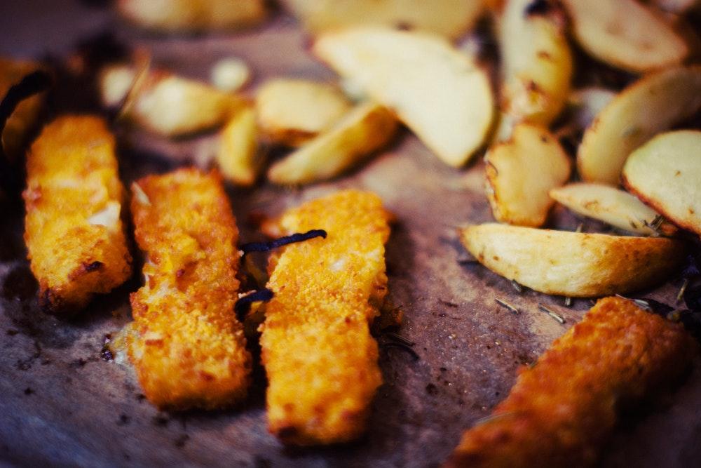 Heerlijke kruidige aardappelpartjes uit de folie